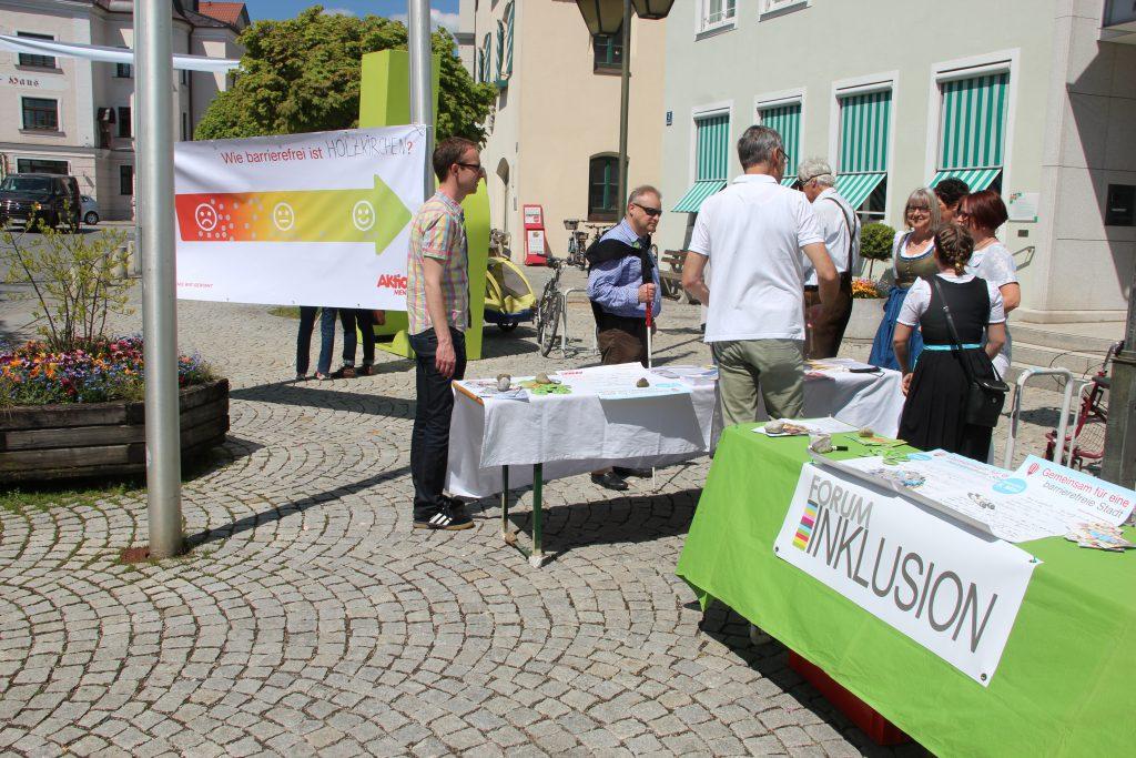 Wie barrierefrei ist Holzkirchen?
