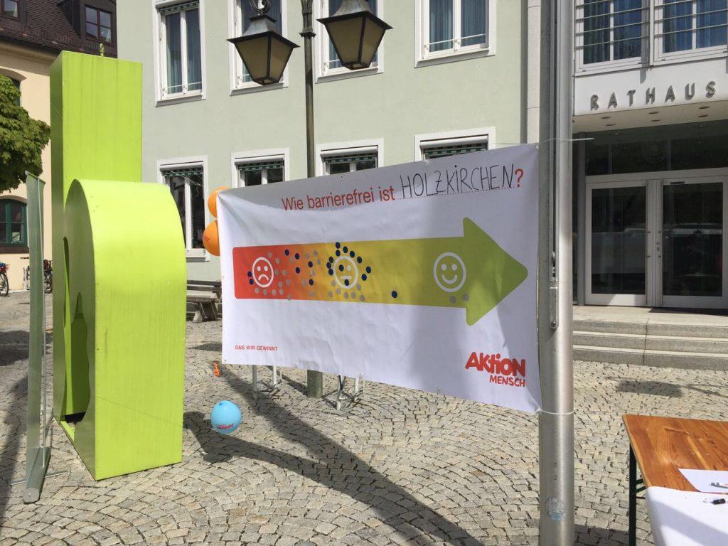 Protesttag: Einschätzung der Holzkirchner Bürger zur Barrierefreiheit